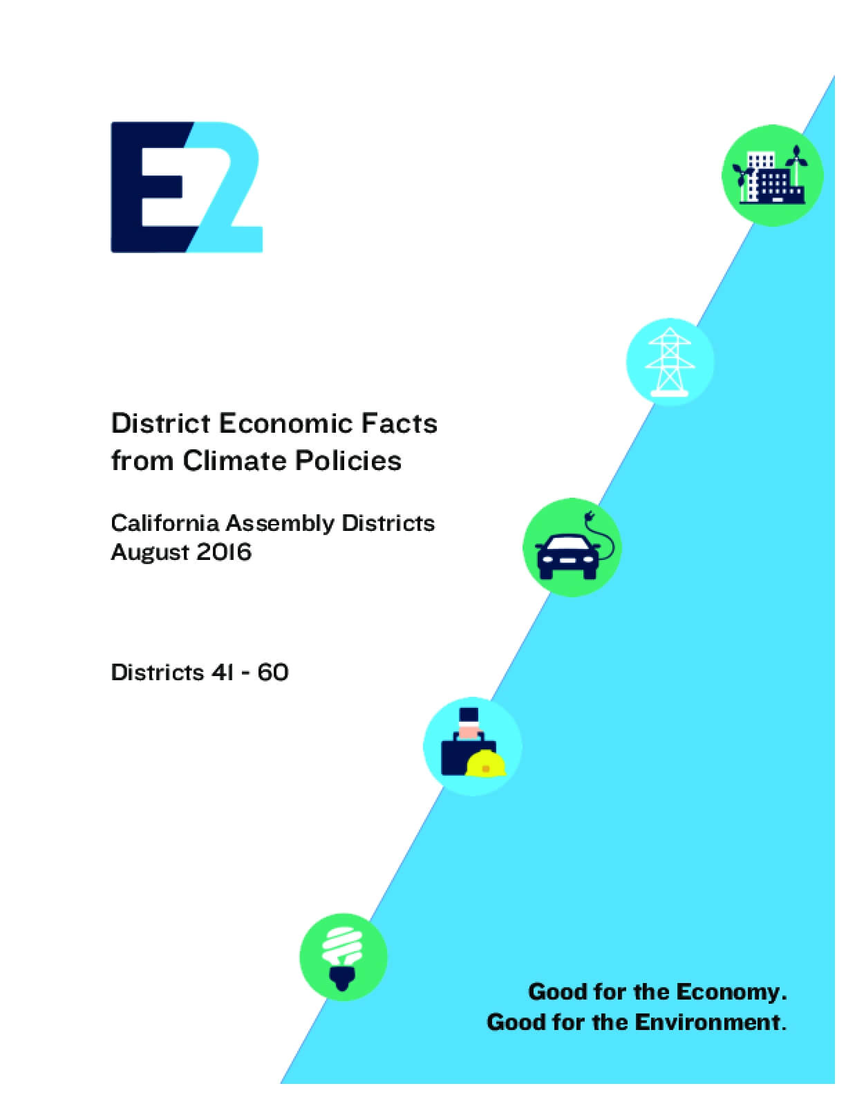 District Economic Facts from Climate Policies: California Assembly Districts 41 - 60