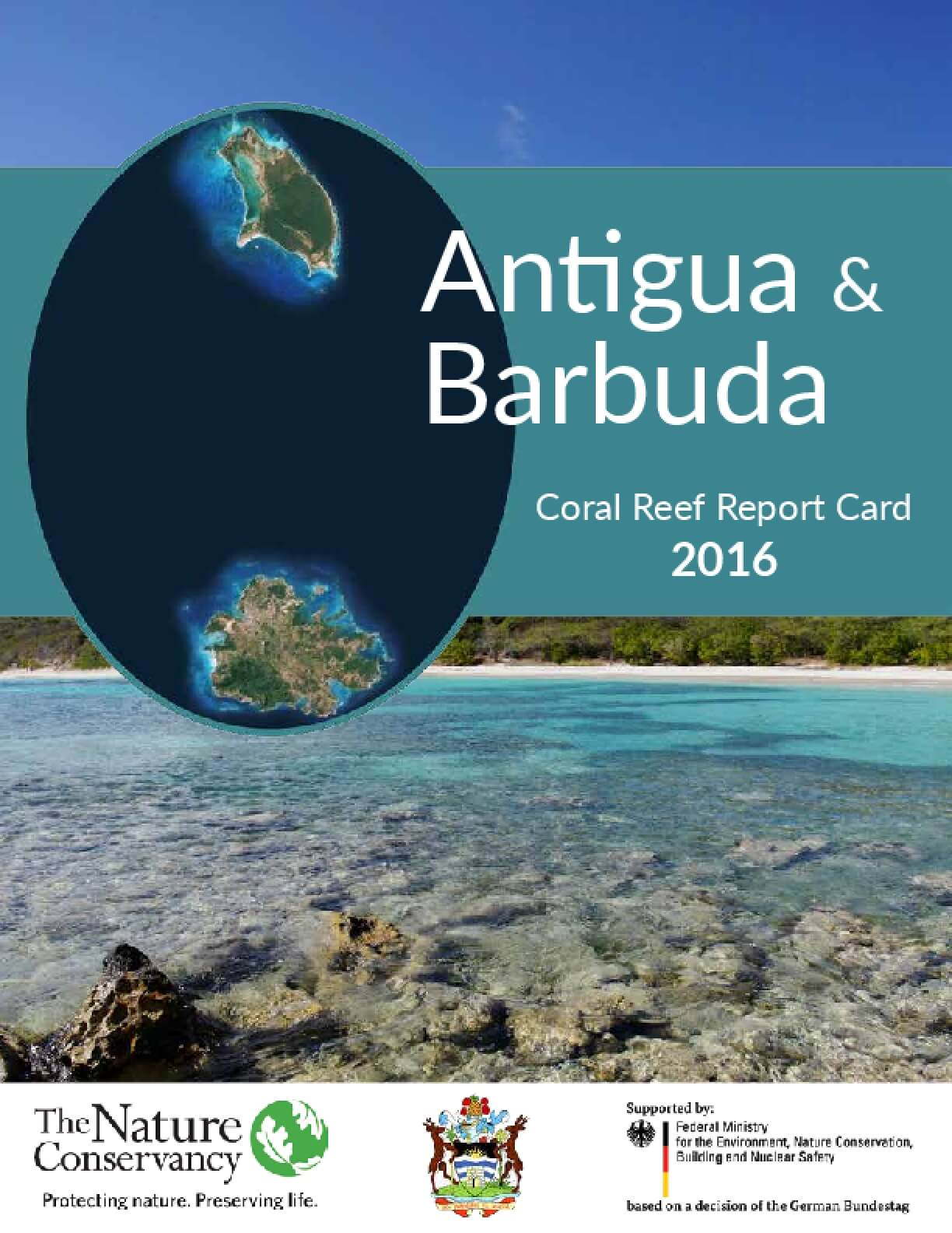Antigua & Barbuda: Coral Reef Report Card 2016
