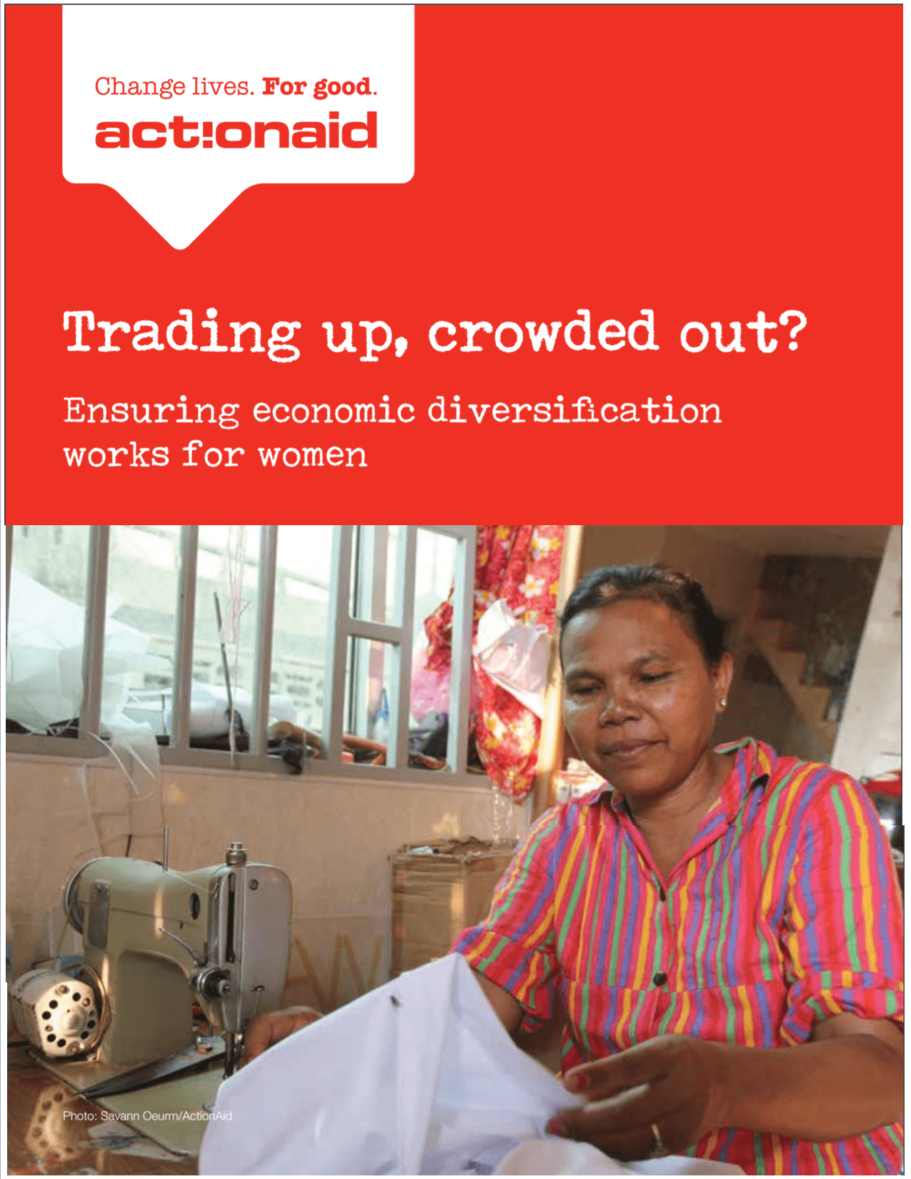 Trading up, crowded out? Ensuring economic diversification works for women