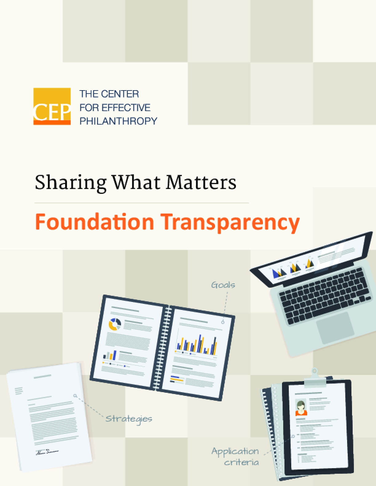 Sharing What Matters : Foundation Transparency