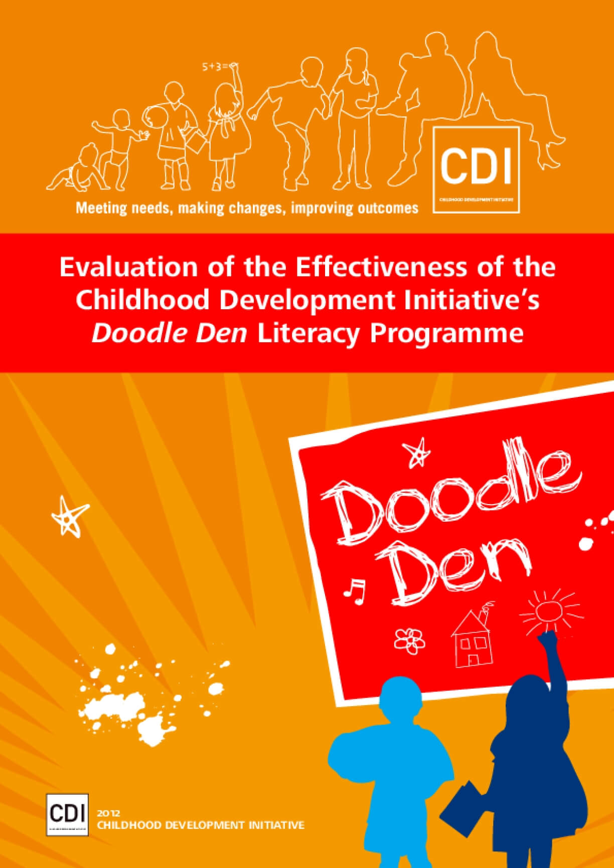 Evaluation of the Effectiveness of the Childhood Development Initiative's Doodle Den Literacy Programme