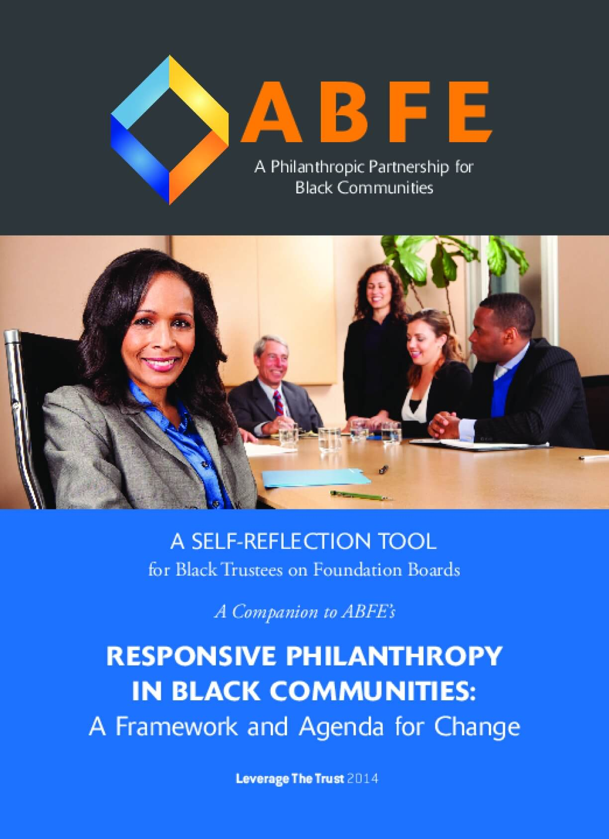A Self-reflection Tool for Black Trustees on Foundation Boards