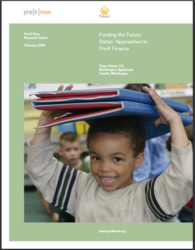 Funding the Future: States' Approaches to Pre-K Finance