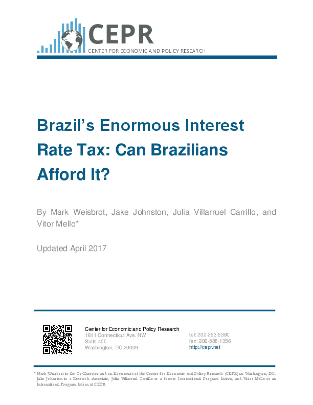 Brazil's Enormous Interest Rate Tax: Can Brazilians Afford It?