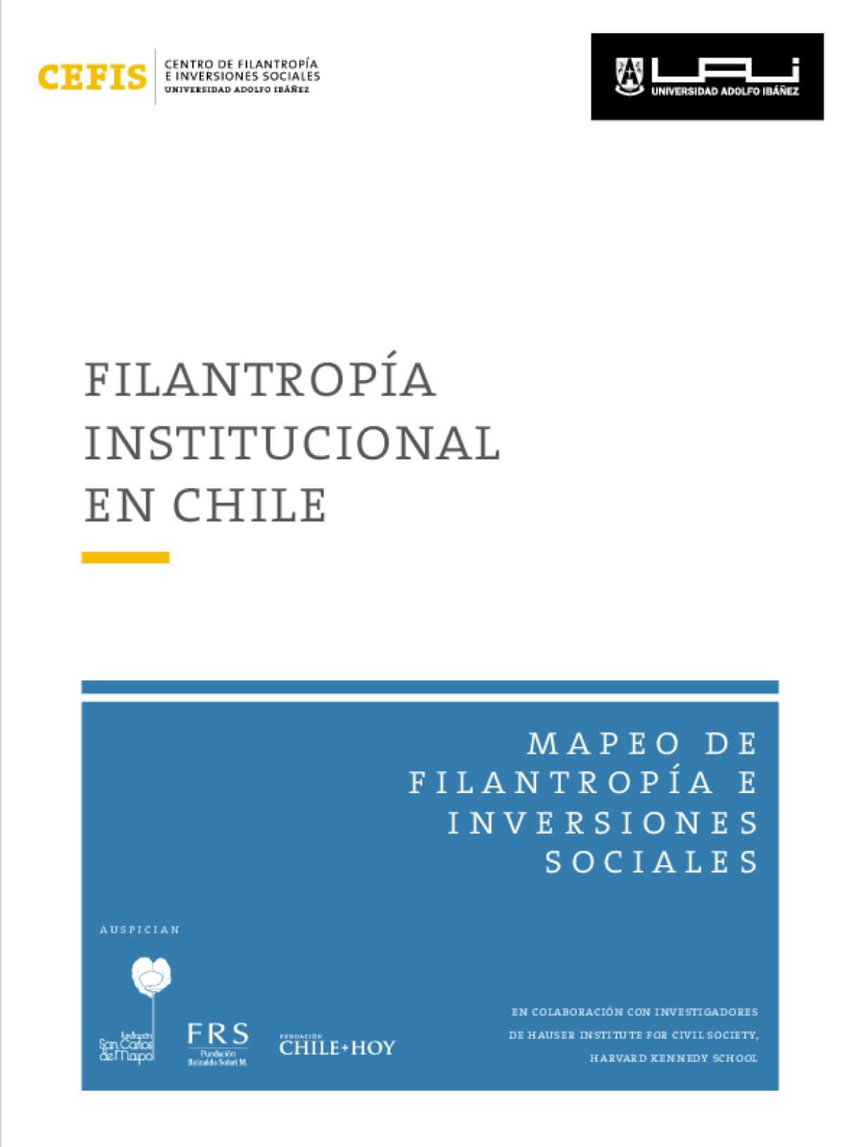 Filantropía Institucional en Chile