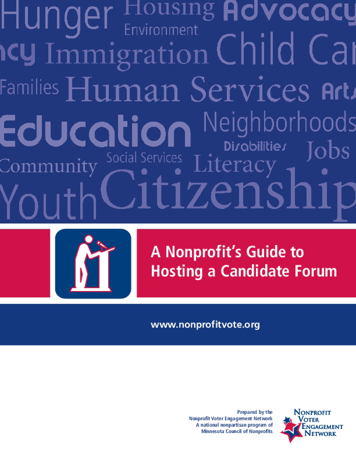 A Nonprofit's Guide to Hosting a Candidate Forum