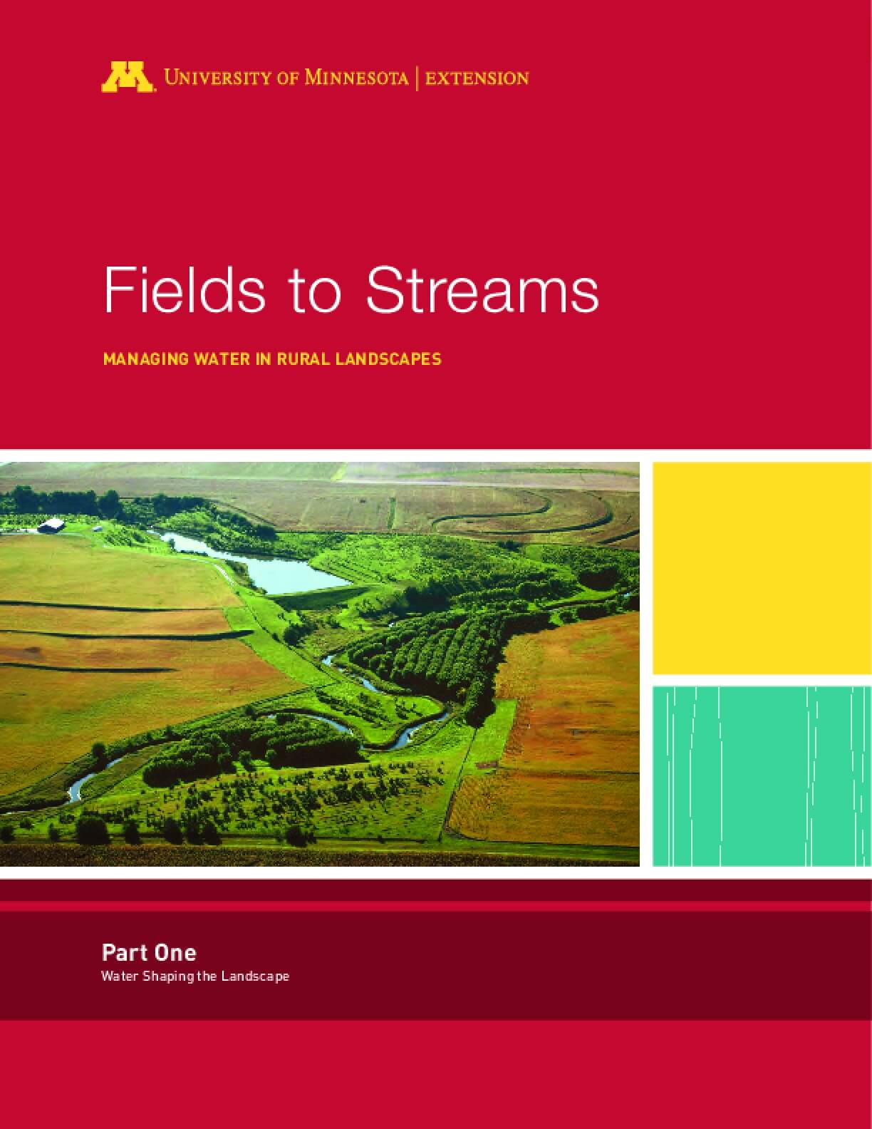Fields to Streams: Managing Water in Rural Landscapes