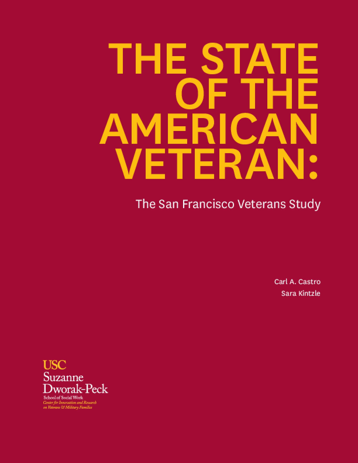 The State of the American Veteran: The San Francisco Veterans Study