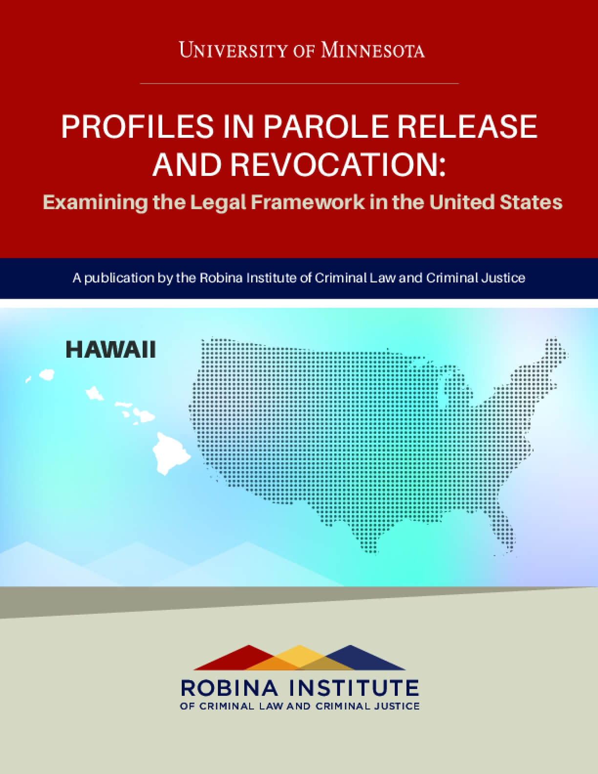 Profiles in Parole Release and Revocation Hawaii