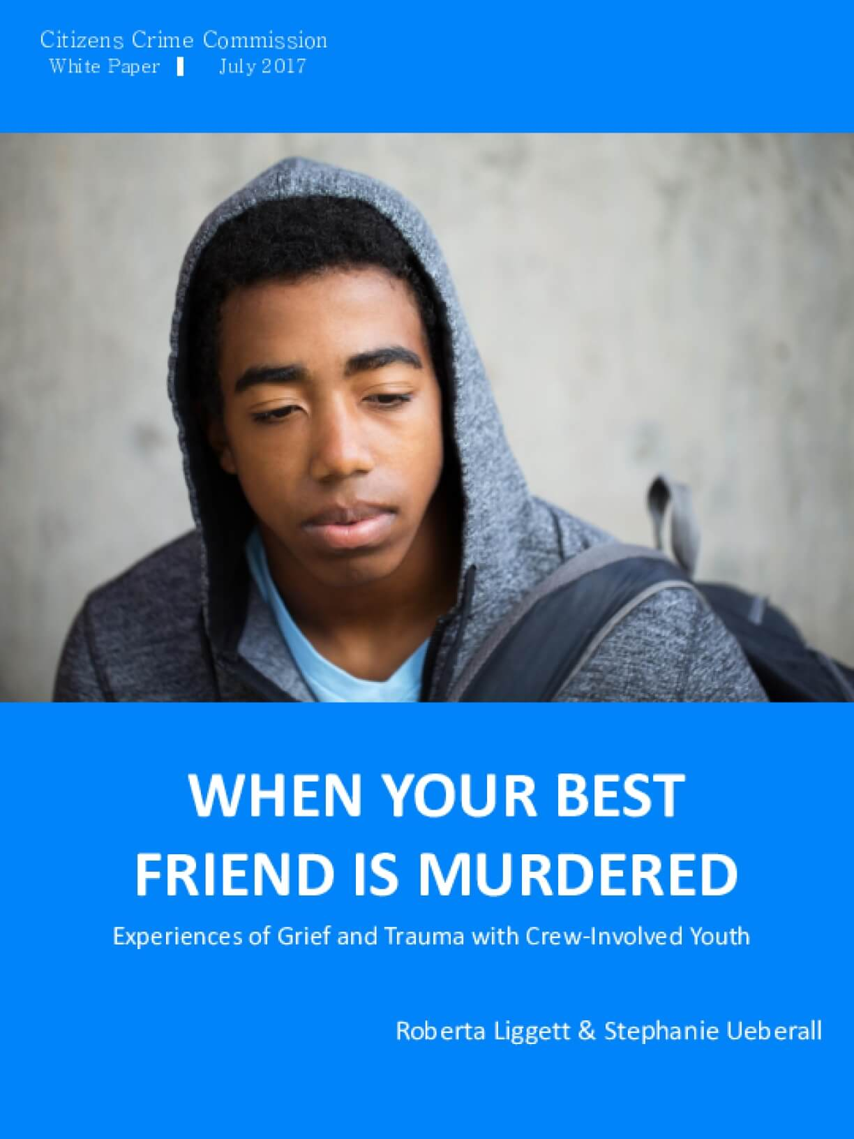 When Your Best Friend Is Murdered: Experiences of Grief and Trauma with Crew-involved Youth