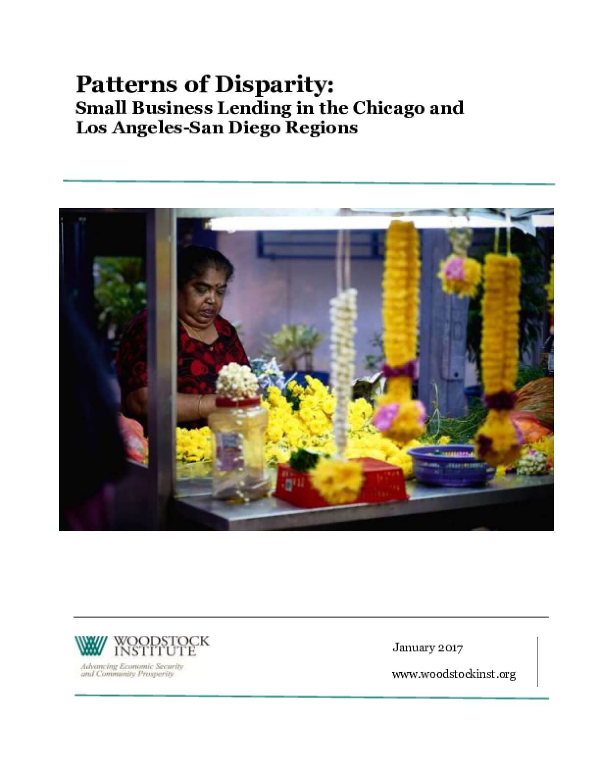 Patterns of Disparity: Small Business Lending in the Chicago and Los Angeles-San Diego Regions