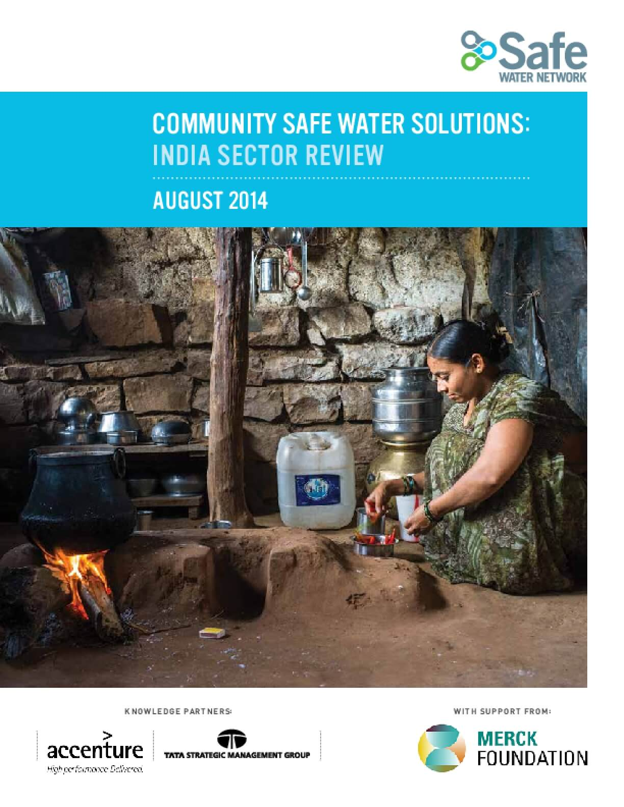 Community Safe Water Solutions: India Sector Review
