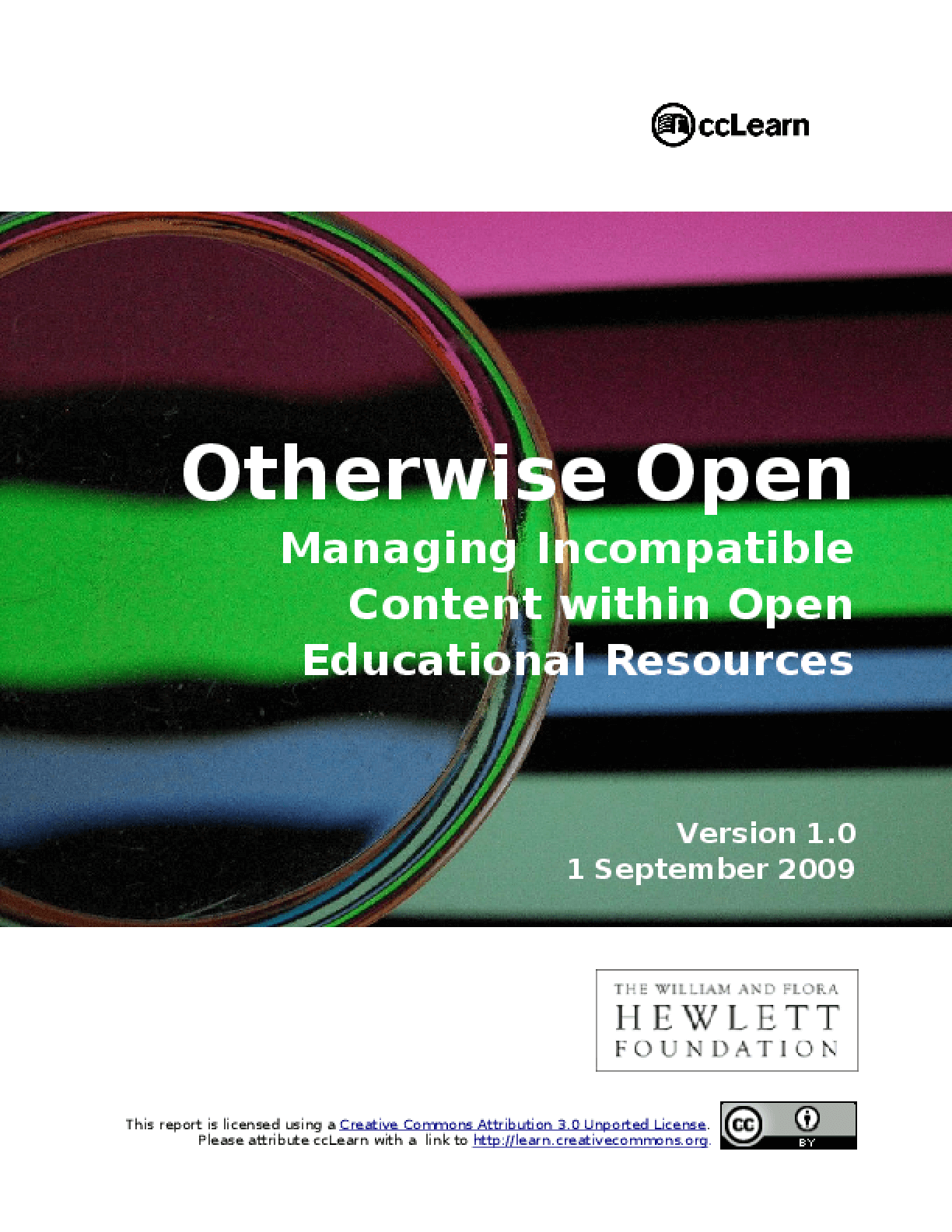 Otherwise Open: Managing Incompatible Content with Open Educational Resources