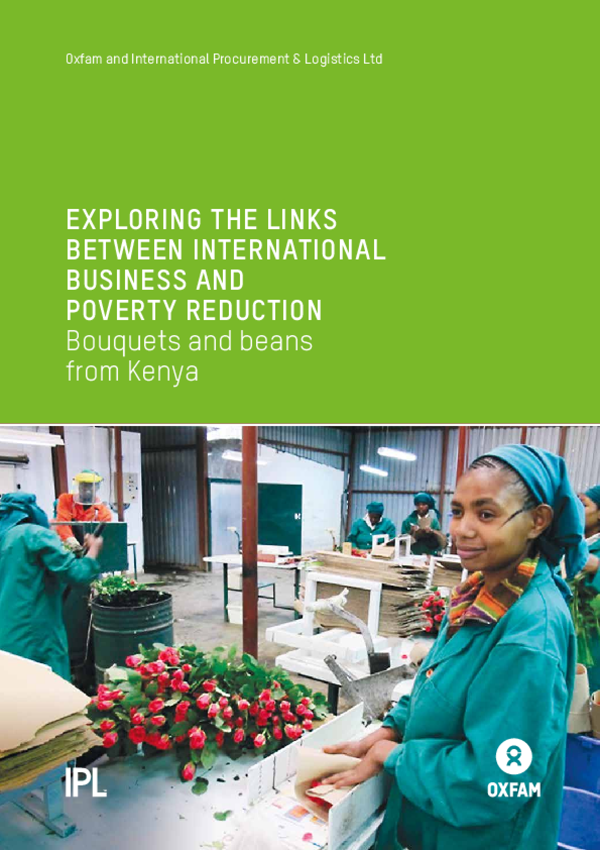 Exploring the Links Between International Business and Poverty Reduction: Bouquets and beans from Kenya