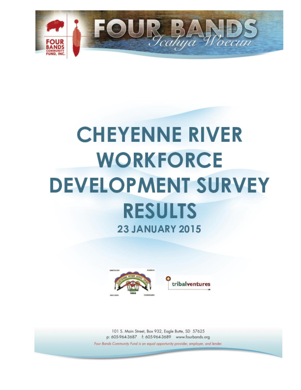 Cheyenne River Workforce Development Survey Results