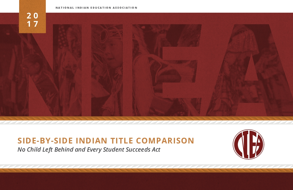 Side-by-Side Indian Title Comparison: No Child Left Behind and Every Student Succeeds Act