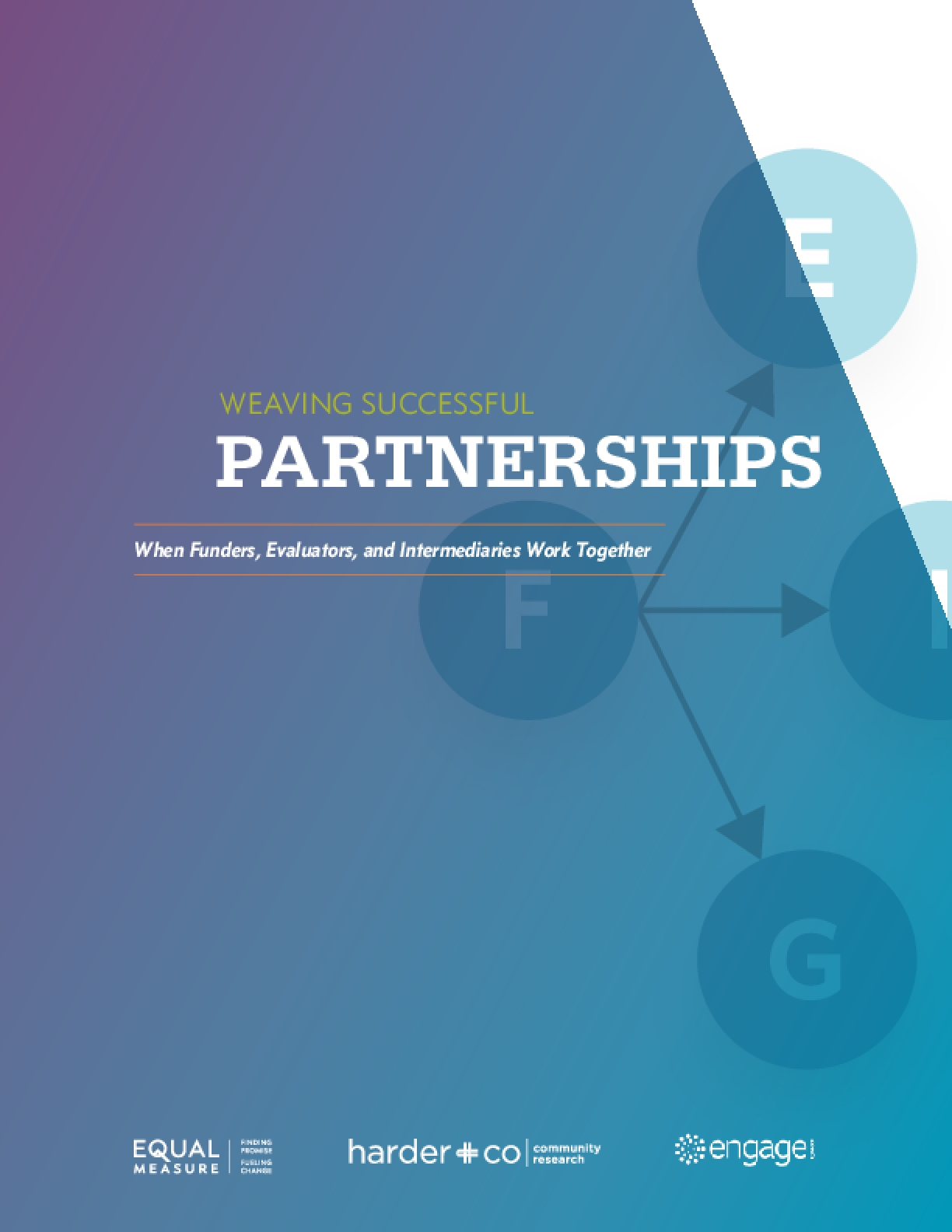 Weaving Successful Partnerships: When Funders, Evaluators, and Intermediaries Work Together
