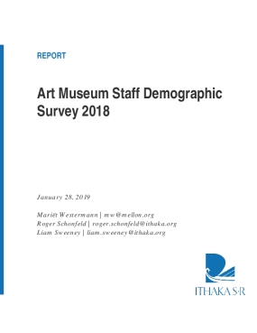 Art Museum Staff Demographic Survey 2018