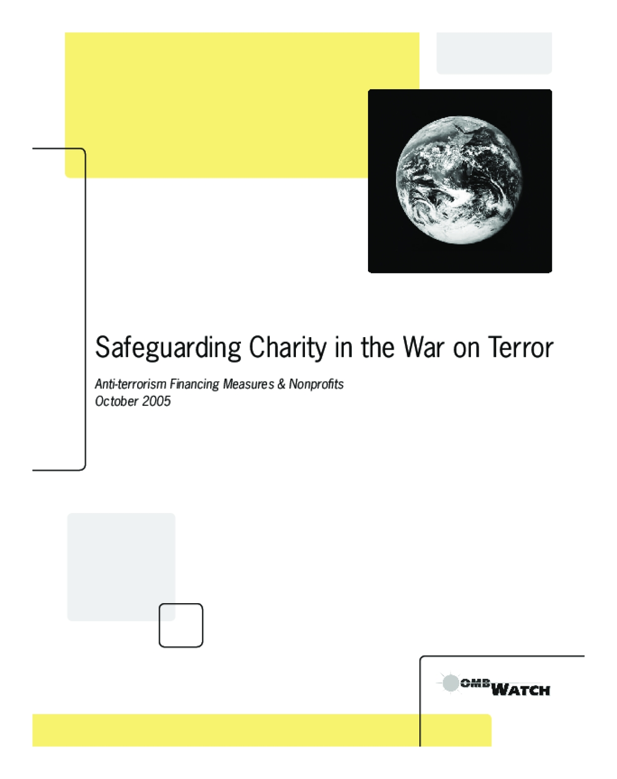 Safeguarding Charity in the War on Terror