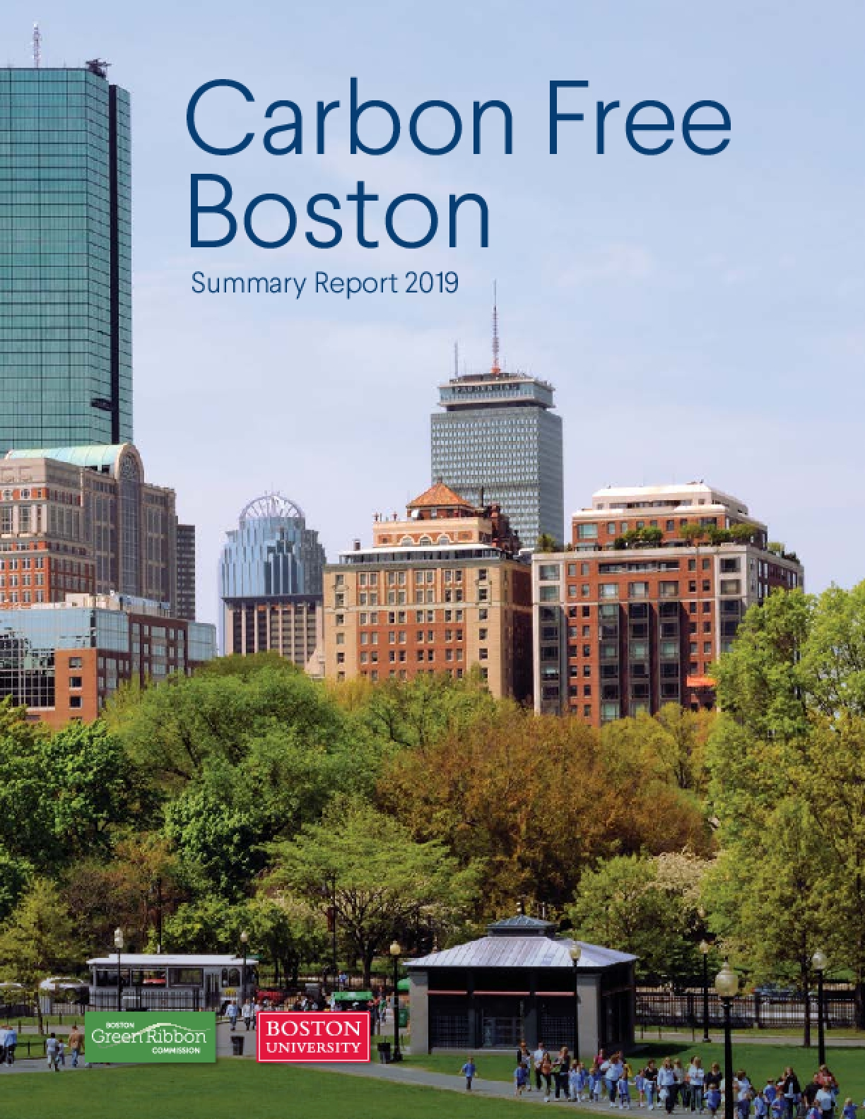 Carbon Free Boston: Summary Report 2019