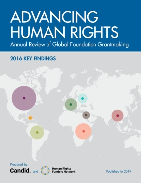 Advancing Human Rights: 2016 Key Findings