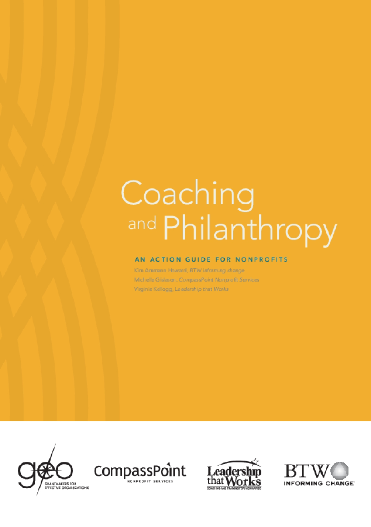 Coaching and Philanthropy: An Action Guide for Nonprofits