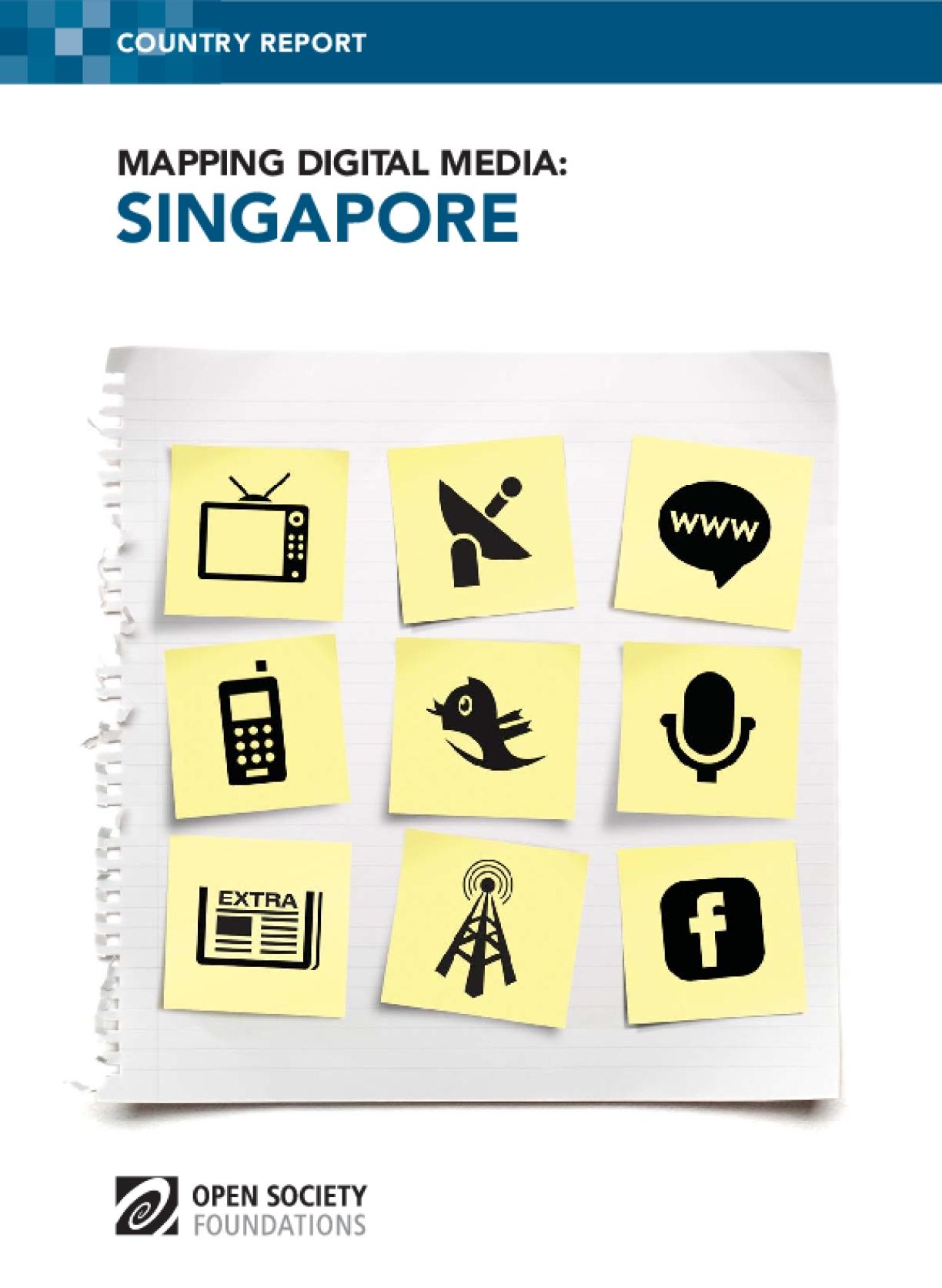 Mapping Digital Media: Singapore
