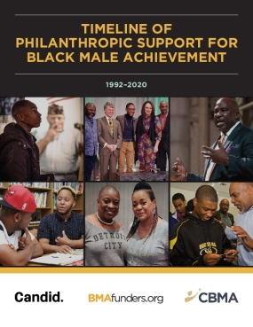 Timeline of Philanthropic Support for Black Men and Boys
