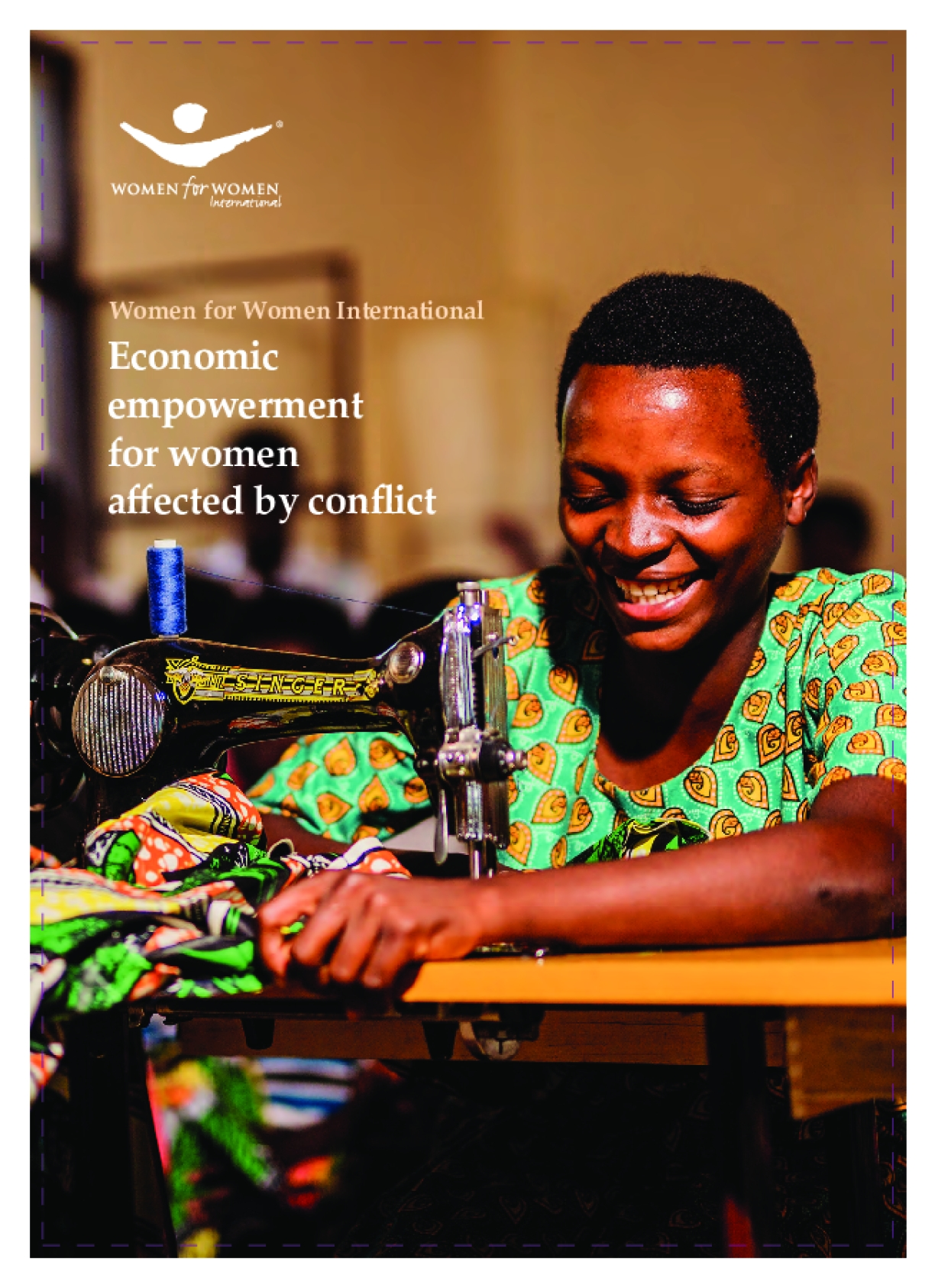 Economic Empowerment for Women Affected by Conflict