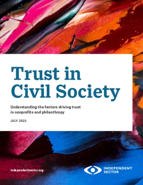 Trust in Civil Society: Understanding the factors driving trust in nonprofits and philanthropy