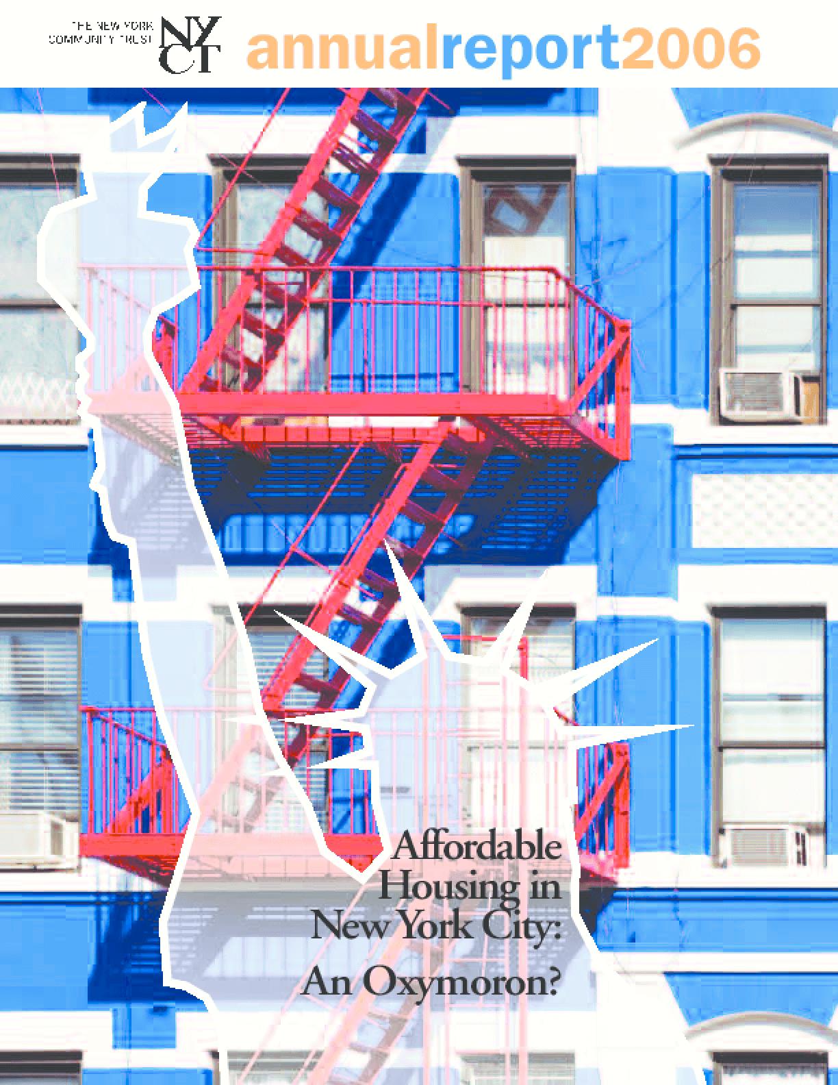 New York Community Trust - 2006 Annual Report