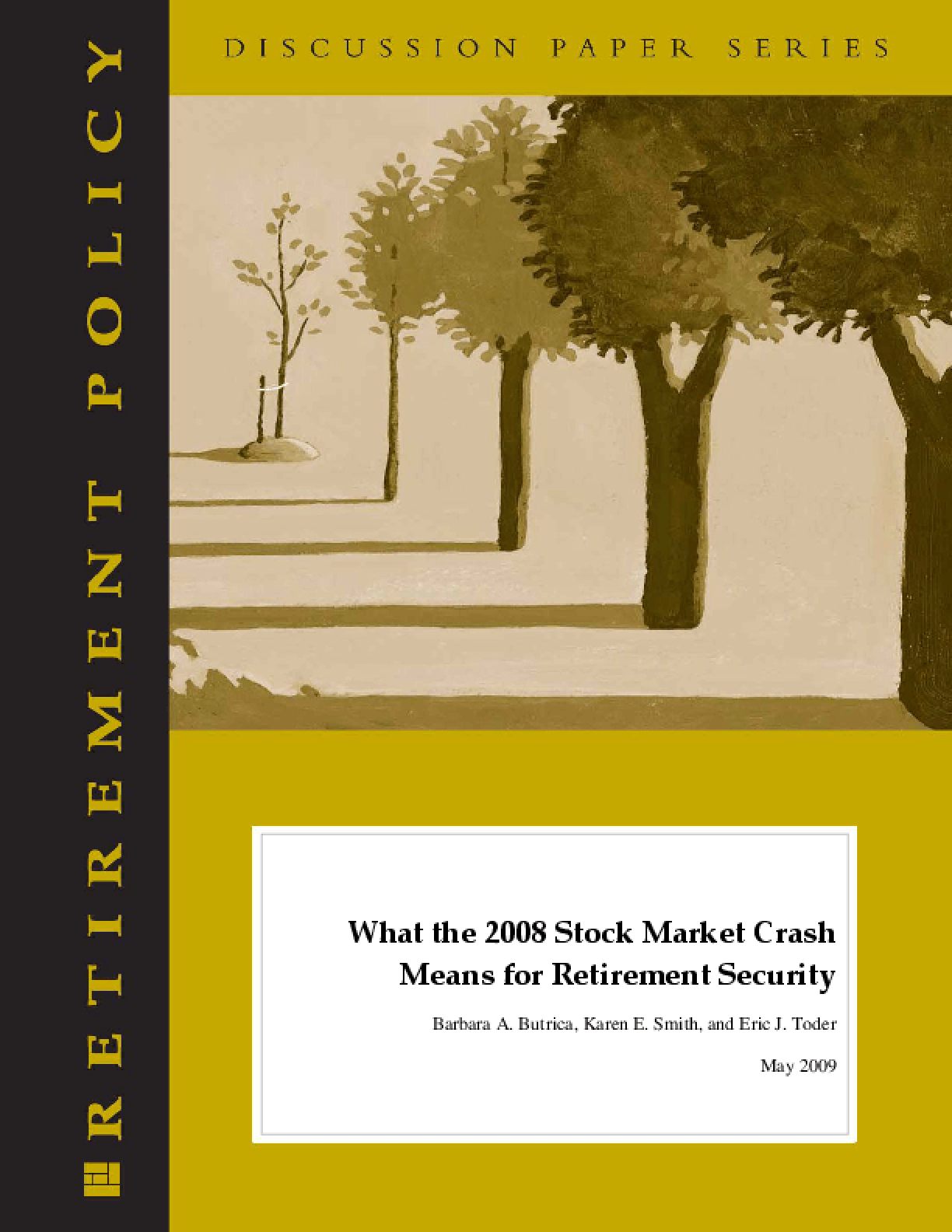 What the 2008 Stock Market Crash Means for Retirement Security