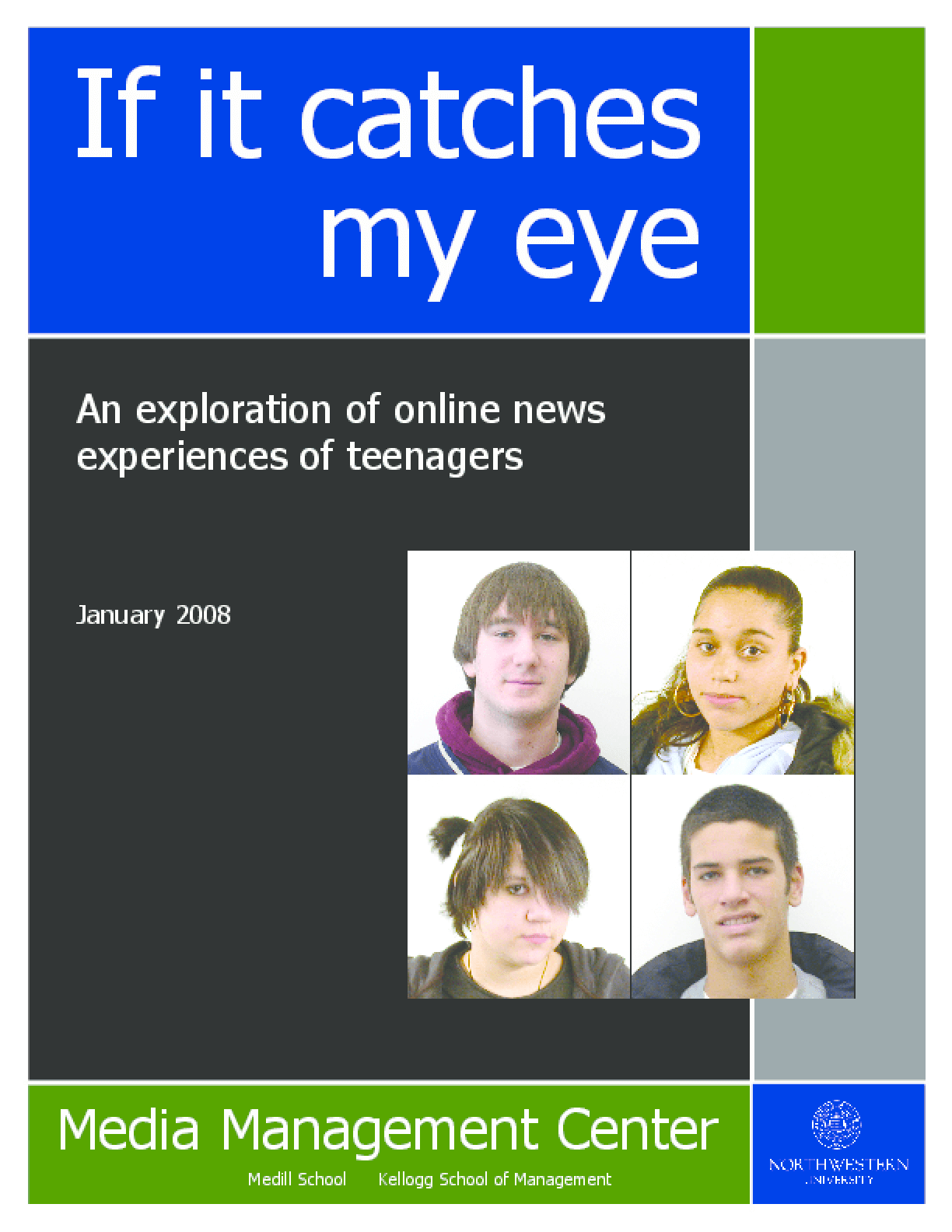 If It Catches My Eye: An Exploration of Online News Experiences of Teenagers
