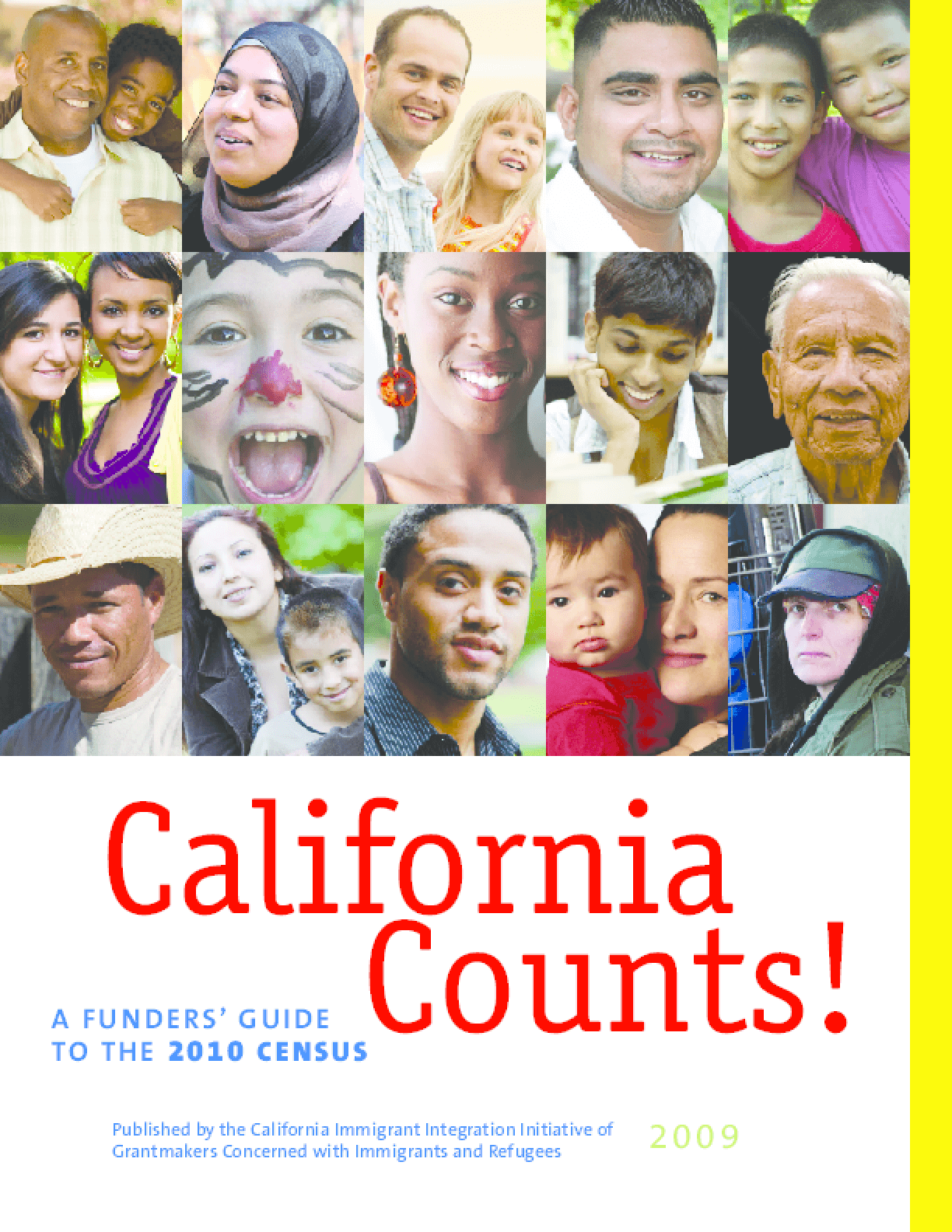 California Counts! A Funders' Guide to the 2010 Census